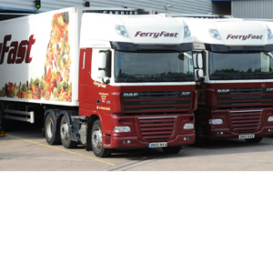 FerryFast Logistics: HGV vehicles for transporting Fresh Produce
